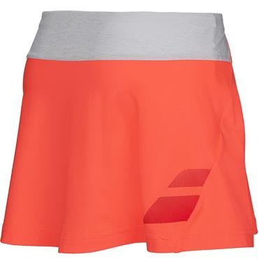 Babolat Ladies Performance Tennis Skirt Fluo Red