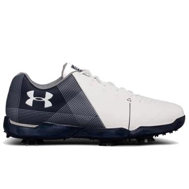 Under Armour Junior - Boys Spieth Golf Shoes White - Academy