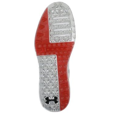 Under Armour Gents  Performace SL Spikeless Leather Shoes White