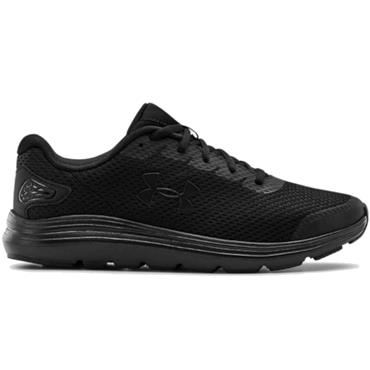 Under Armour Gents Surge 2 Running Shoes Black 002
