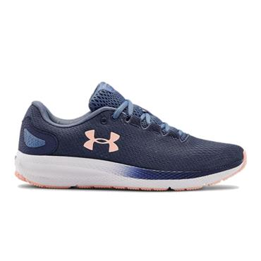 Under Armour Ladies Pursuit 2 Running Shoes Blue 401