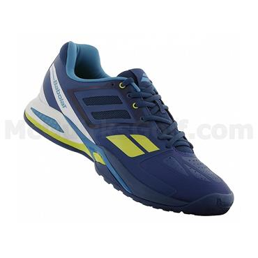 Babolat Gents Propulse Team BPM Omni Clay Tennis Shoes Blue