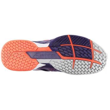 Babolat Ladies Propulse Fury Omni Clay Tennis Shoes Purple - Pink