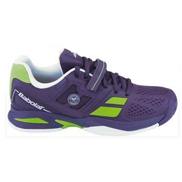 Babolat Tennis Junior Propulse All Court Wimbledon Shoes Purple