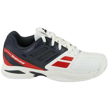 Babolat Propulse Team All Court Junior Shoes White - Red