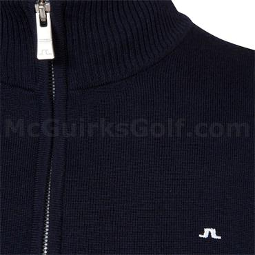 J.Lindeberg Gents Kian Tour Merino Sweater Navy