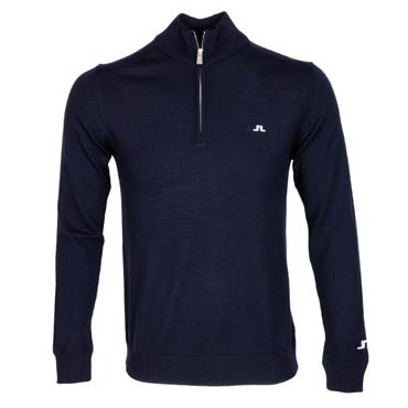 J.Lindeberg Gents Kian Tour Merino Sweater Navy