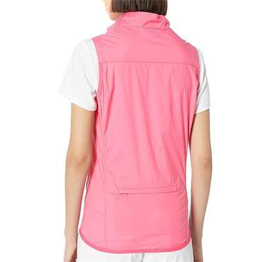 J.Lindeberg Ladies Lilly Trusty Wind Pro Stretch Vest Pink