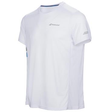 Babolat Junior - Boys Core Tennis Shirt White