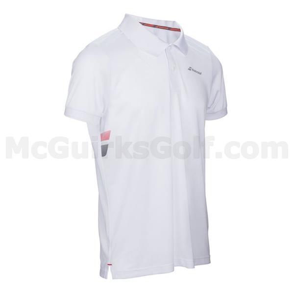 0d7a7b1f Babolat Junior - Boys Core Club Polo White | Golf Store
