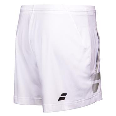 Babolat Tennis Boys Core Shorts White