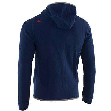 Babolat Junior - Boys Core Hood Sweat Estate Blue