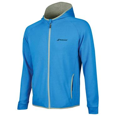 Babolat Tennis Gents Core Hood Sweat Diva Blue