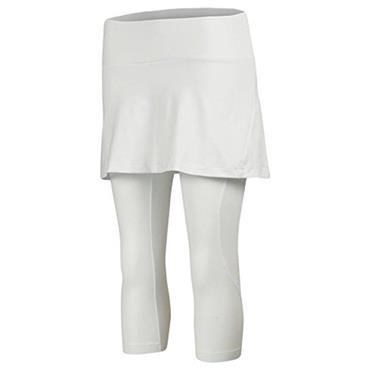 Babolat Ladies Combi Tennis Skort + Capri White