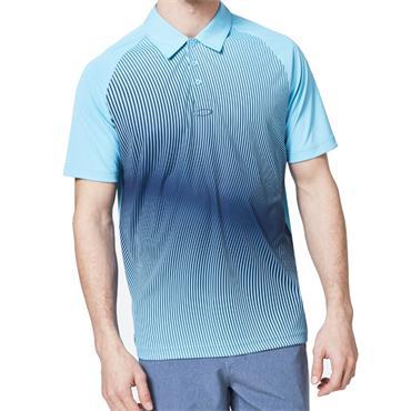 Oakley Gents Dynamic Polo Blue 6VB