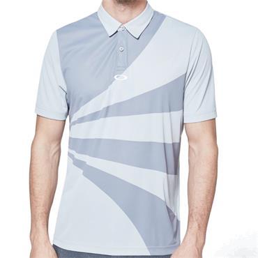 Oakley Gents Geometric Swing Polo Grey