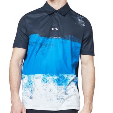 Oakley Gents Colorblock Polo Blue 6UN