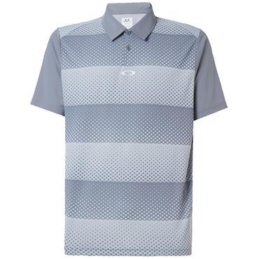 Oakley Gents Dot Stripes Polo Grey 98R