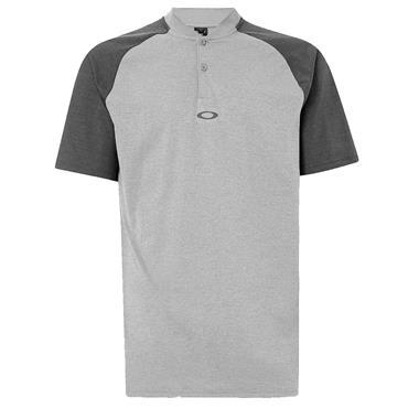 Oakley Gents Icon Bi Color Polo Shirt Fog Grey 27G