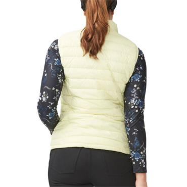 Rohnisch Ladies Light Down Vest Powder Yellow