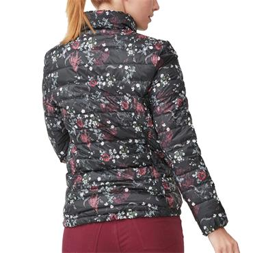 Rohnisch Ladies Light Down Jacket Pink Garden