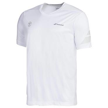 Babolat Tennis Gents Wimbledon Training T-Shirt White