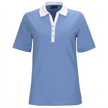 Golfino Ladies Palm Beach Polo Shirt Blue