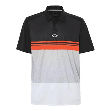 Oakley Gents Colour Block Take Polo Shirt Forged Iron