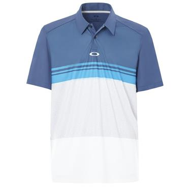 Oakley Gents Colour Block Take Polo Shirt Insign Blue
