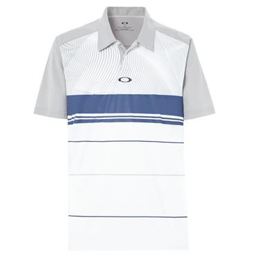 Oakley Gents Aero Motion Polo Shirt Stone Grey