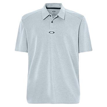 Oakley Gents Aero Elipse Polo Shirt Stonewash Heather