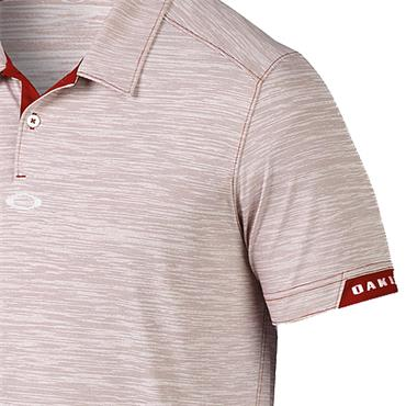 Oakley Gents Gravity Polo Shirt Iron Red