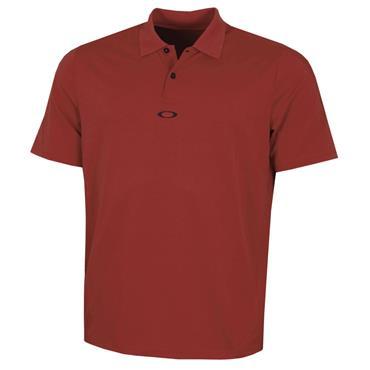 Oakley Gents Ergonomic Polo Shirt Iron Red