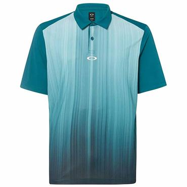 Oakley Gents Infinity Line Polo Shirt Stormed Blue