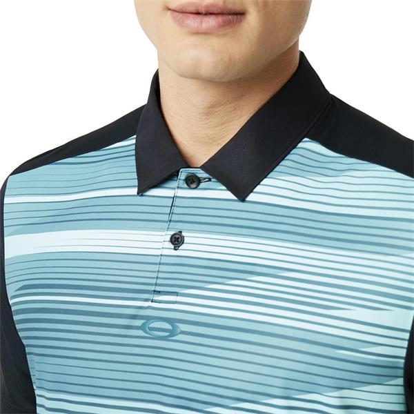 4777709a Oakley Gents Ace Golf Polo Shirt Black | Golf Store