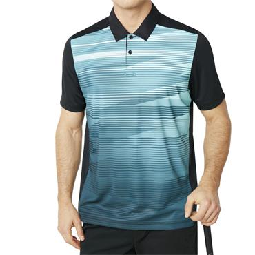 Oakley Gents Ace Golf Polo Shirt Black