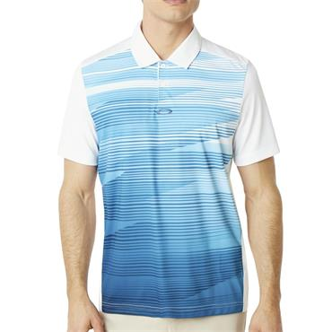 Oakley Gents Ace Golf Polo Shirt White