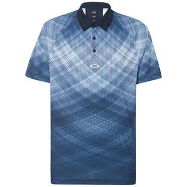 Oakley Gents Barkie Gradient Polo Shirt Fathom