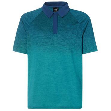 Oakley Gents Four Jack Gradient Polo Shirt Petrol