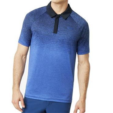 Oakley Gents Four Jack Gradient Polo Shirt Blue