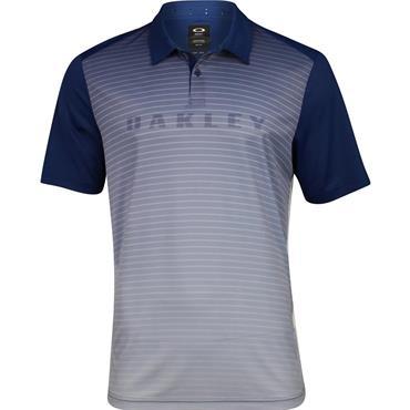Oakley Gents J Joyce Gradient Brand Polo Shirt Blue