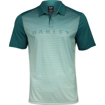 Oakley Gents J Joyce Gradient Brand Polo Shirt Petrol
