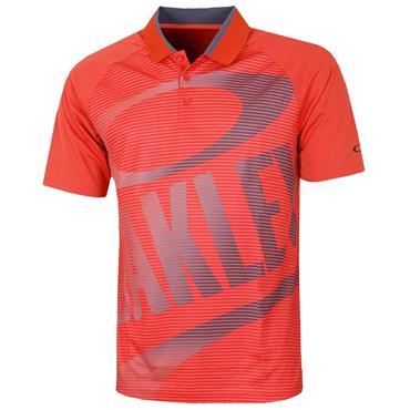 Oakley Gents Golf Polo Shirt Red