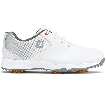 FootJoy Junior DNA Golf Shoes White - Silver