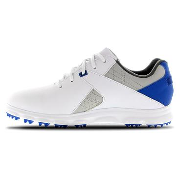 FootJoy Junior Pro SL Shoes White - Grey - Blue