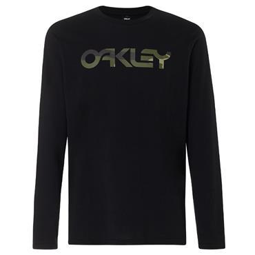 Oakley Gents Mark II Long Sleeve T-Shirt Blackout 02E