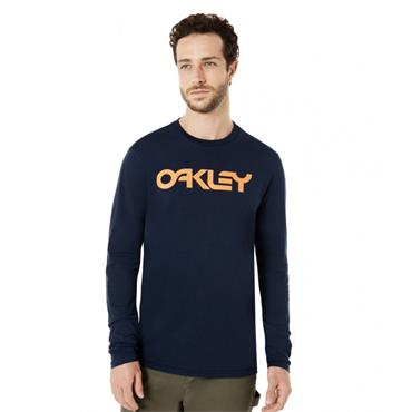 Oakley Gents Mark II Long Sleeve T-Shirt Fathom 6AC