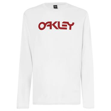 Oakley Gents Mark II Long Sleeve T-Shirt White 100