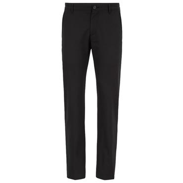 BOSS Gents Slim-Fit in Technical Twill Hakan 9-1 Trousers Black