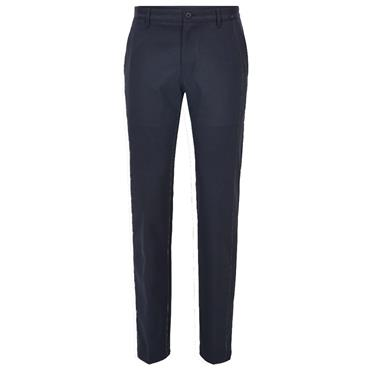 Hugo Boss Gents Slim-Fit in Technical Twill Hakan 9-1 Trousers Navy
